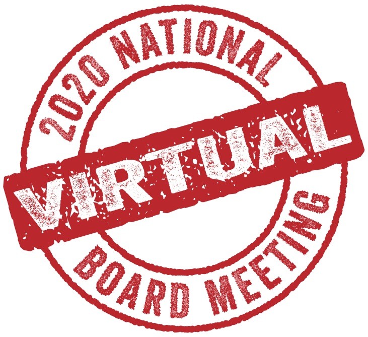 October Virtual National Board Meeting